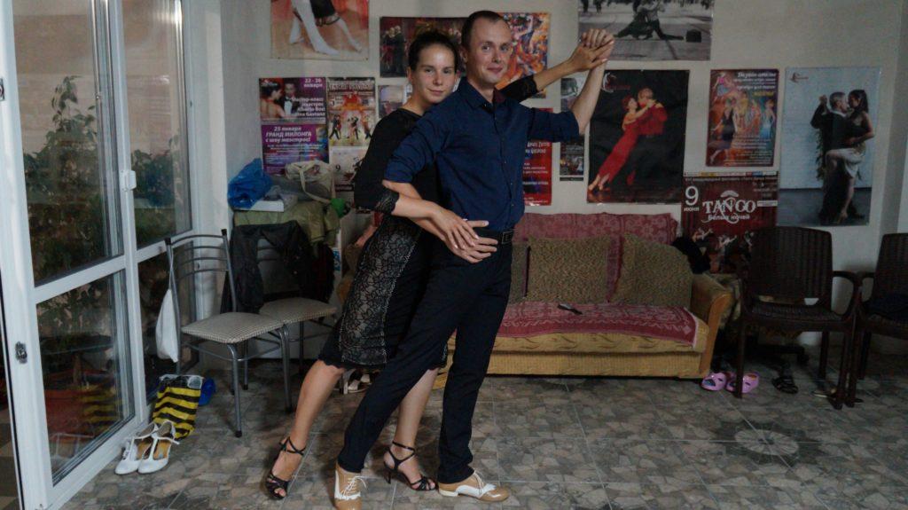 Клуб аргентинского танго в Орле
