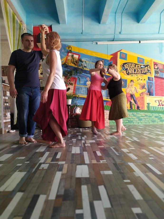 Танцы в Орле