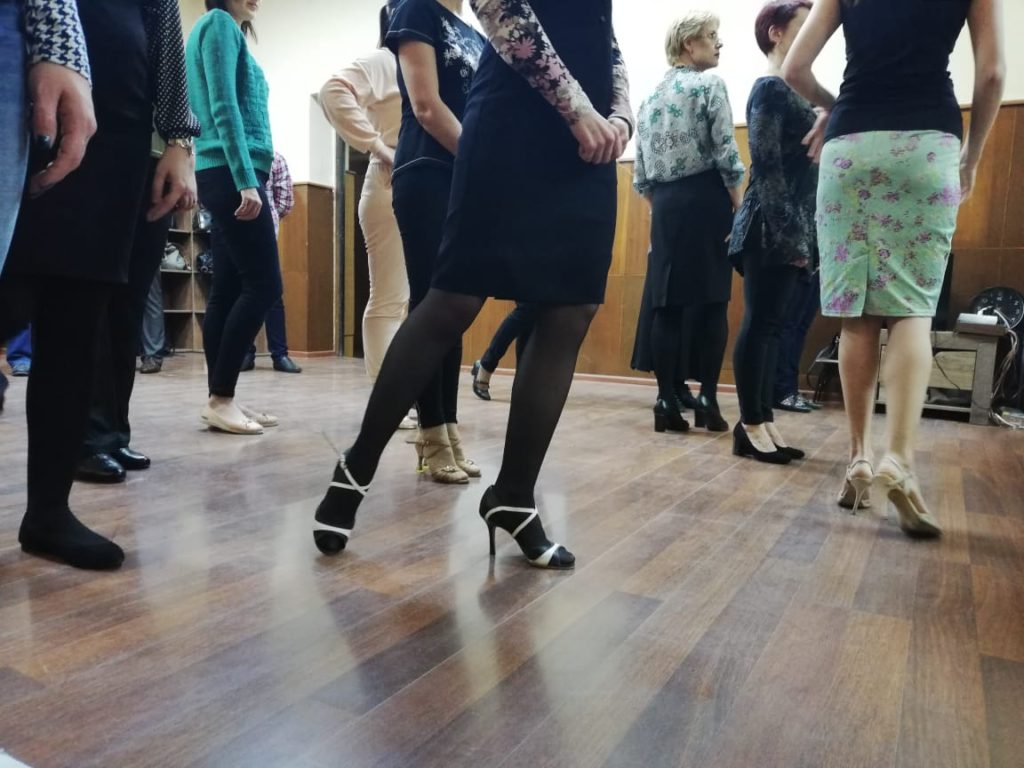 Пробный урок аргентинского танго в Орле